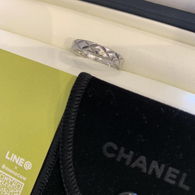 鶴橋のお客様からシャネルの指輪を買取_02