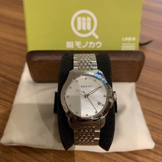 門真のお客様からグッチの時計を買取_02