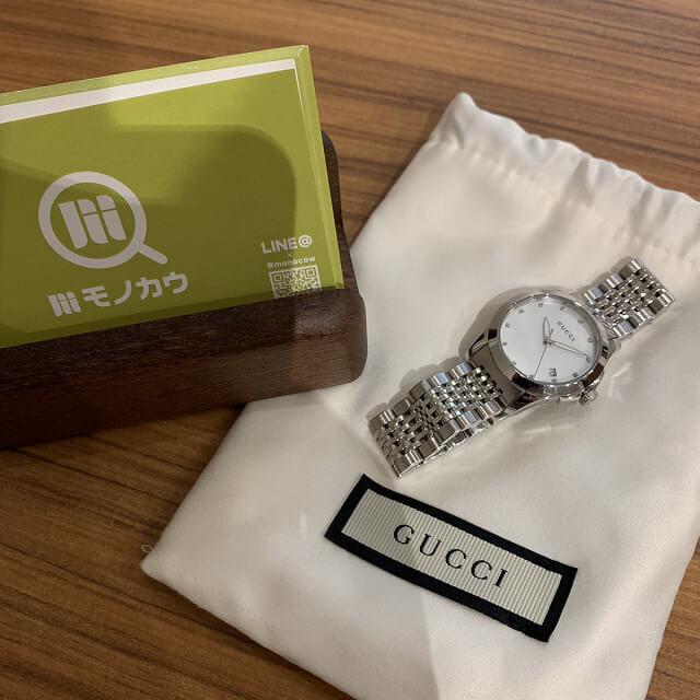 門真のお客様からグッチの時計を買取_03