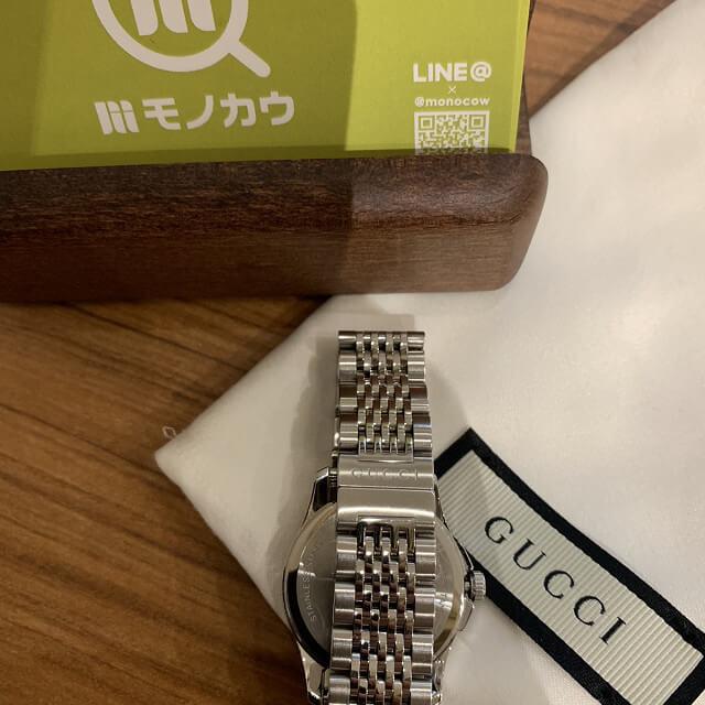 門真のお客様からグッチの時計を買取_04
