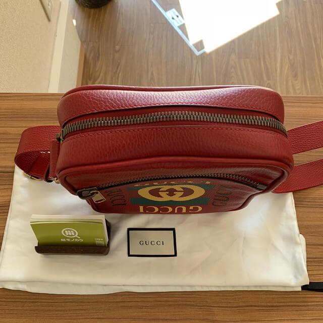 高円寺からグッチのプリントメッセンジャーバッグを買取_03