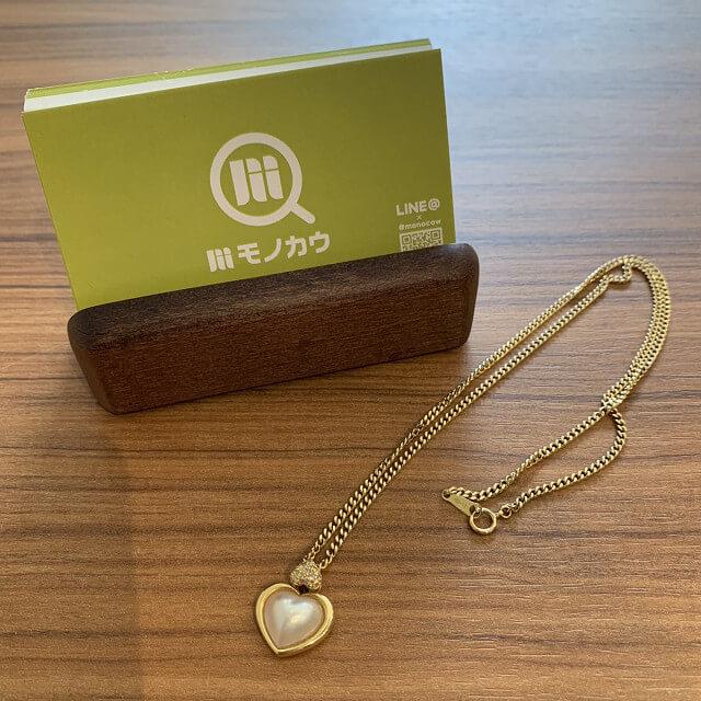 鶴橋のお客様から18金のネックレスを買取_01