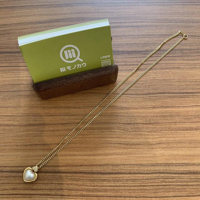鶴橋のお客様から18金のネックレスを買取_02