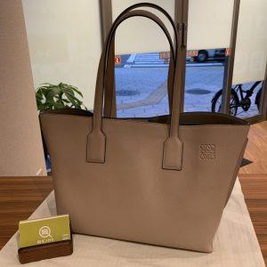 神田からロエベのTショッパーバッグを買取