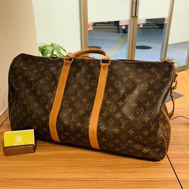藤井寺のお客様からヴィトンのボストンバッグを買取_01