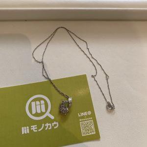 天王寺のお客様からメレダイヤトップのネックレスを買取