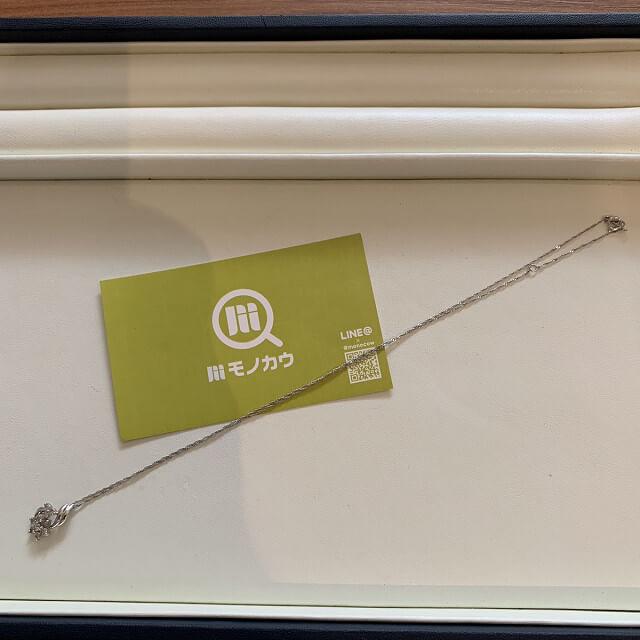 天王寺のお客様からメレダイヤトップのネックレスを買取_04