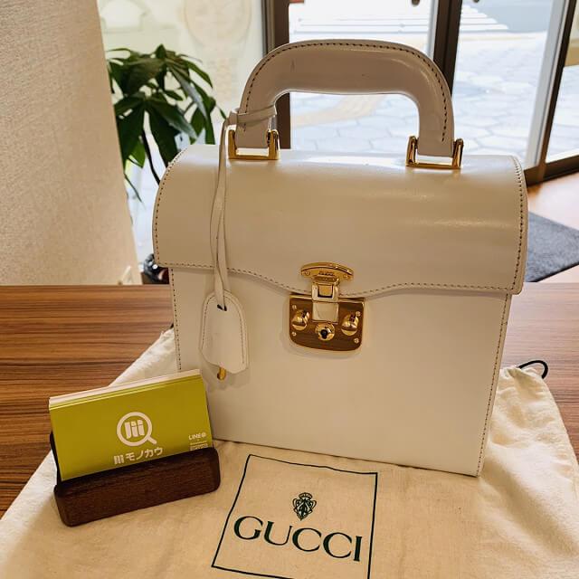 藤井寺のお客様からグッチのハンドバッグを買取_01