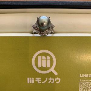 谷町六丁目のお客様から真珠の指輪を買取