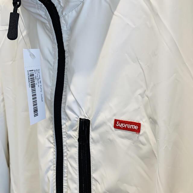 池田のお客様からSupreme NY Reversible Puffy Jacket Whiteを買取_04