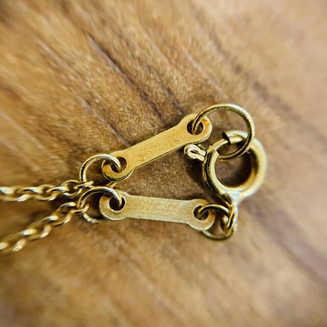 藤井寺のお客様からティファニーのオープンハートネックレスを買取_04
