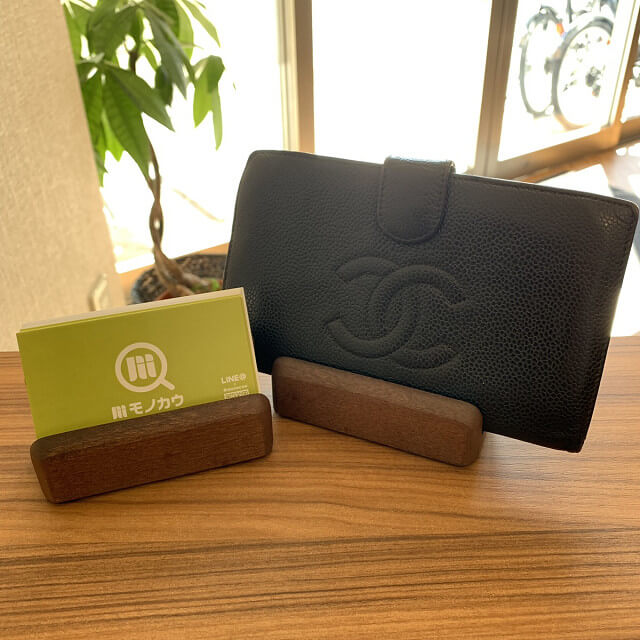 東陽町からシャネルの長財布を買取_01