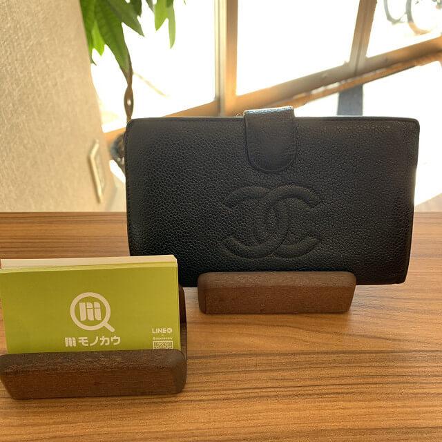 東陽町からシャネルの長財布を買取_02