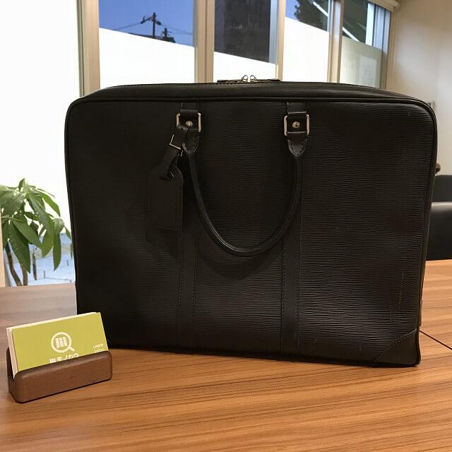 浦安からヴィトンのエピのビジネスバッグを買取_01