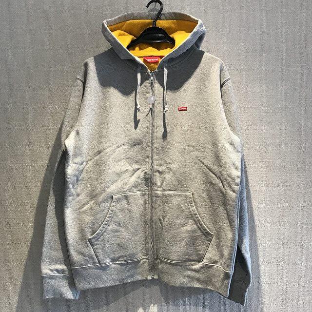 泉大津のお客様からSupreme 18SS Contrast Zip Up Hooded Sweatshirtを買取_01