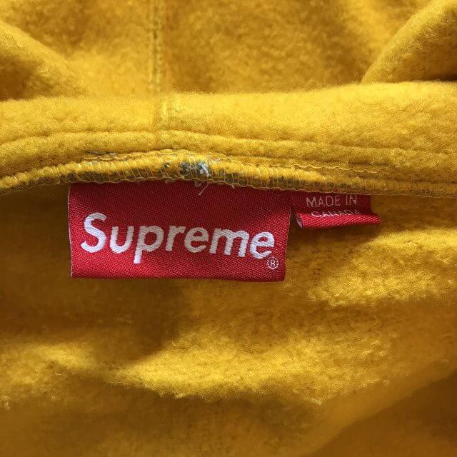 泉大津のお客様からSupreme 18SS Contrast Zip Up Hooded Sweatshirtを買取_03