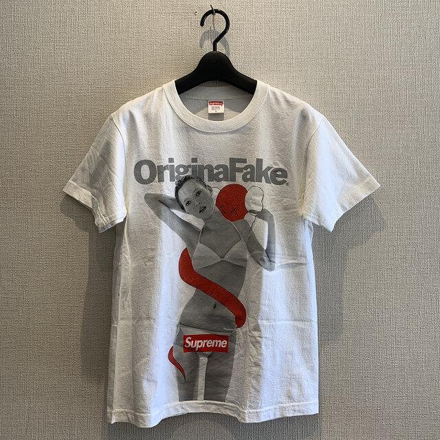松屋町のお客様からSupreme Original Fake Kate Moss Tシャツを買取_01