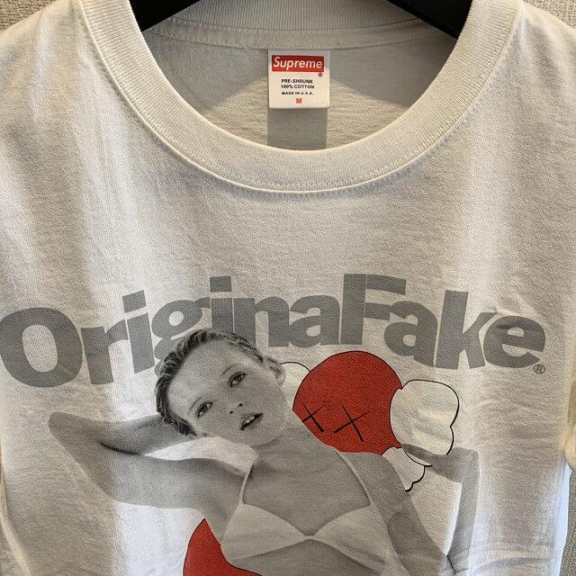 松屋町のお客様からSupreme Original Fake Kate Moss Tシャツを買取_03
