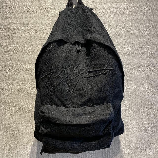 博多のお客様からヨウジヤマモトの2018年モデルのバックパックを買取_01