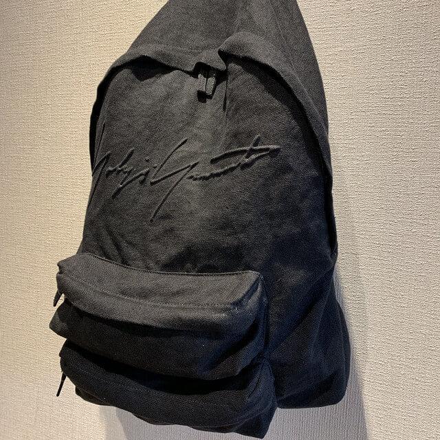 博多のお客様からヨウジヤマモトの2018年モデルのバックパックを買取_02
