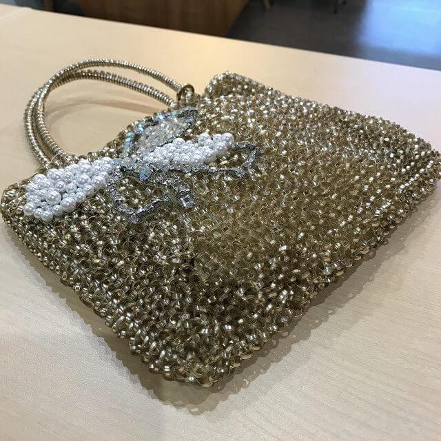 生駒のお客様からアンテプリマのワイヤーハンドバッグを買取_03
