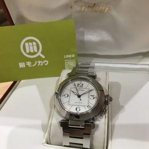 十三のお客様からカルティエの腕時計【パシャC】を買取