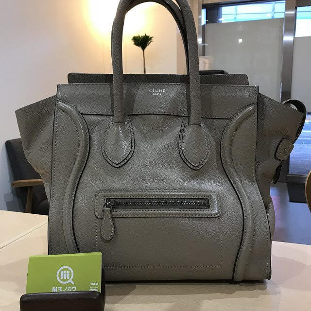 生駒のお客様からセリーヌのラゲージ ミニショッパーバッグを買取_01