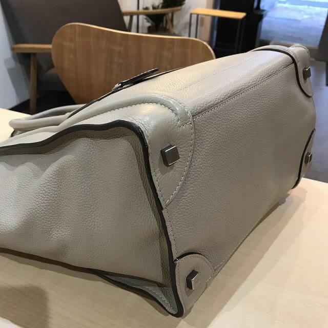 生駒のお客様からセリーヌのラゲージ ミニショッパーバッグを買取_02