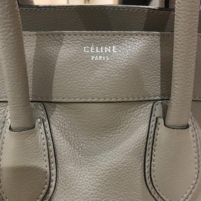 生駒のお客様からセリーヌのラゲージ ミニショッパーバッグを買取_04