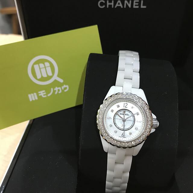 堺市鳳のお客様からシャネルの腕時計【J12】を買取_01