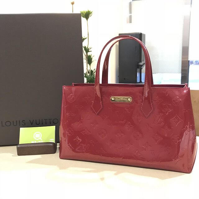 西宮からヴィトンのヴェルニのバッグ【ウィルシャーPM】を買取_01