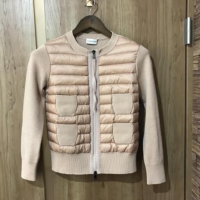 川崎からモンクレールのMAGLIONE TRICOT ALLA COREANA ニットジャケットを買取_01