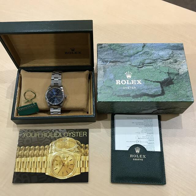 都島のお客様からロレックスの腕時計【エアキング】を買取_02