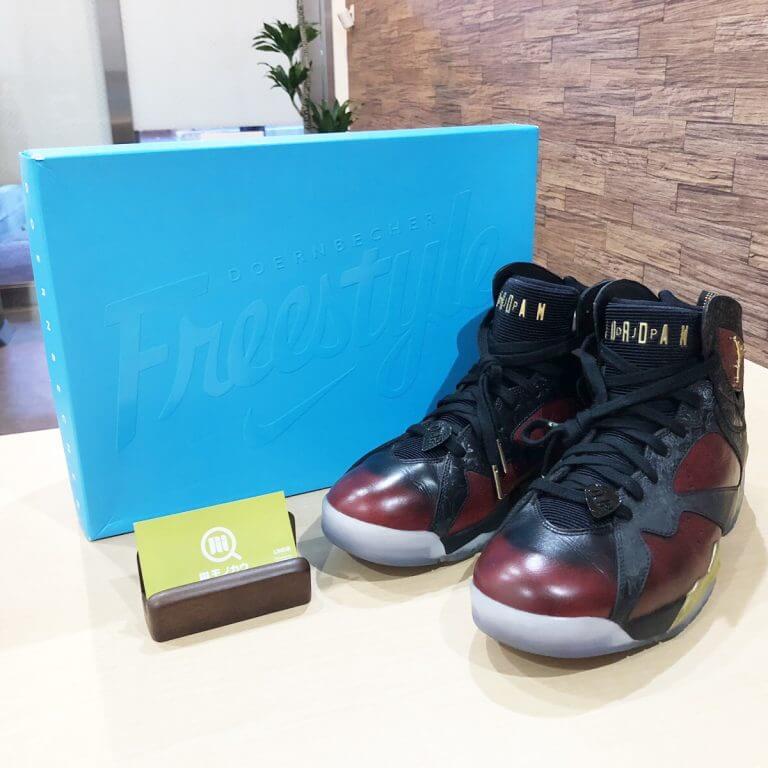 池田のお客様からNike Air Jordan 7 Retro Doernbecherを買取_01