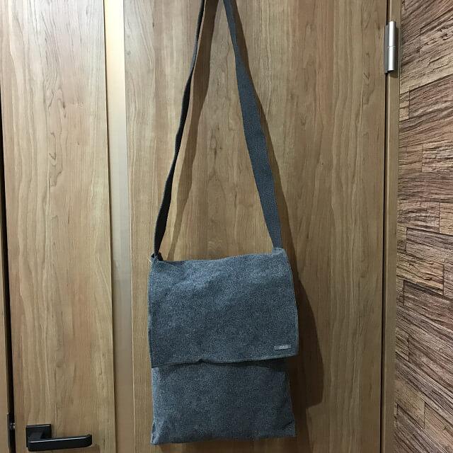 枚方店にてアルマーニのウールバッグを買取_02