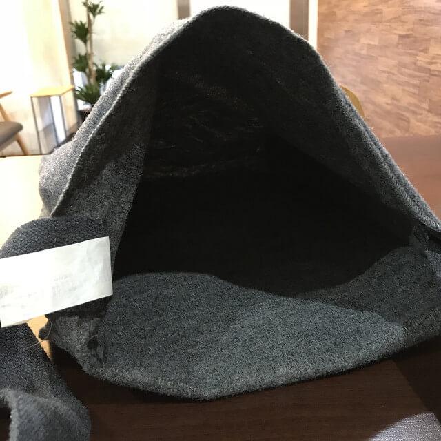 枚方店にてアルマーニのウールバッグを買取_03