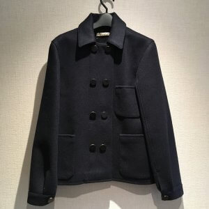 横浜鶴見からバレンシアガのレディースPコートを買取