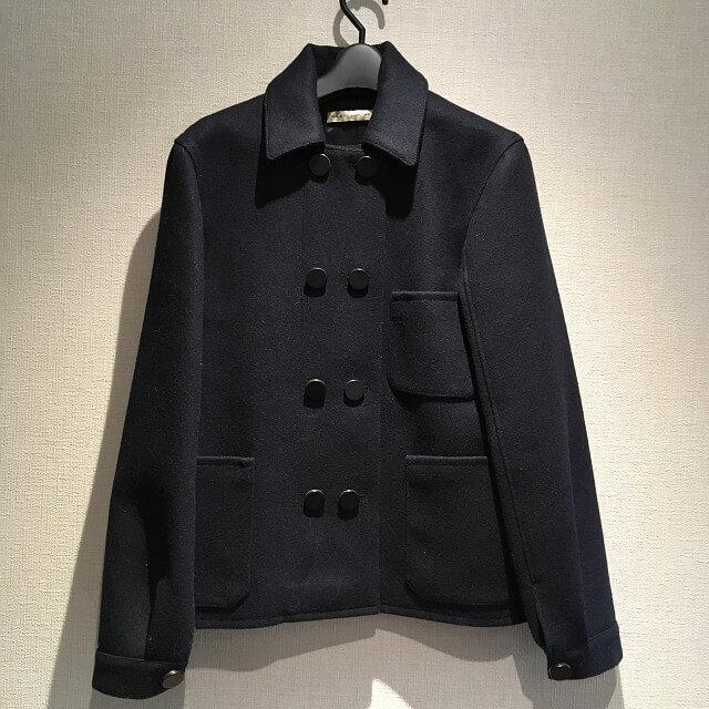 横浜鶴見からバレンシアガのレディースPコートを買取_01