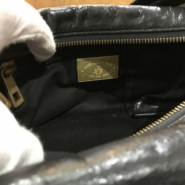 枚方店にてバリーのレザーショルダーバッグを買取_04