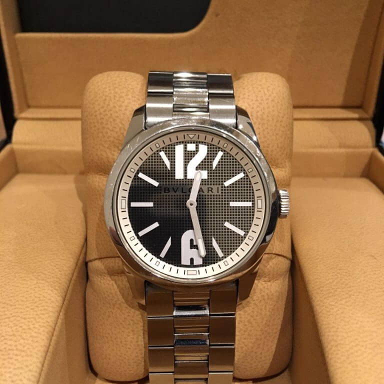 阿倍野のお客様からブルガリの腕時計【ソロテンポ】を買取_04