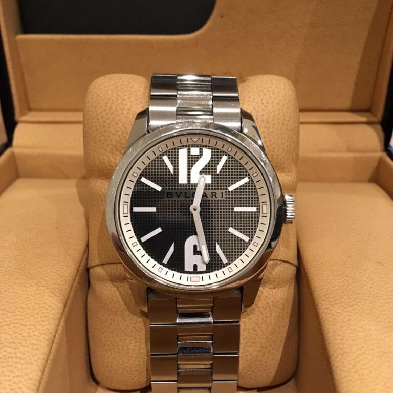 阿倍野のお客様からブルガリの腕時計【ソロテンポ】を買取_02