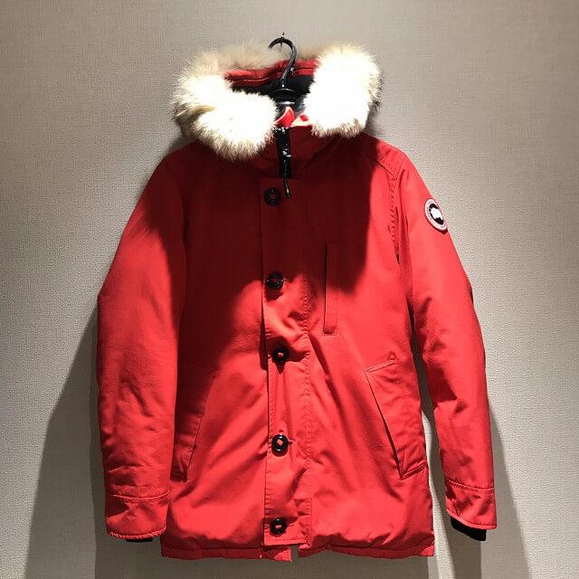松原のお客様からカナダグースのダウンジャケット【JASPER(ジャスパー)】を買取_01
