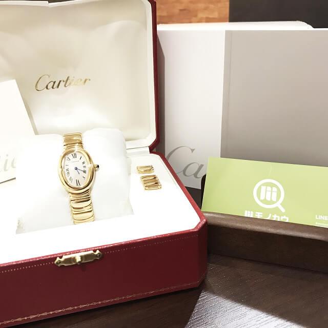 川口市からカルティエの腕時計【べニュワール】を買取_01