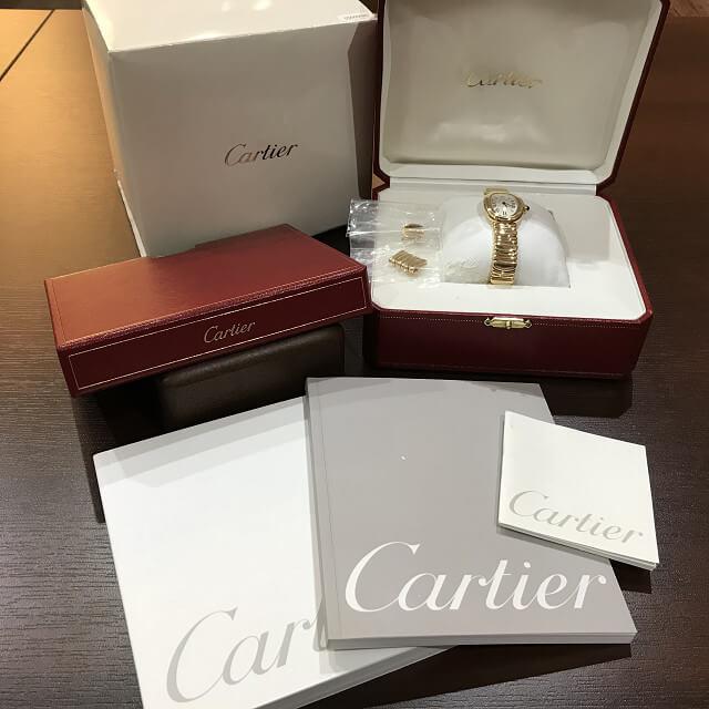 川口市からカルティエの腕時計【べニュワール】を買取_04