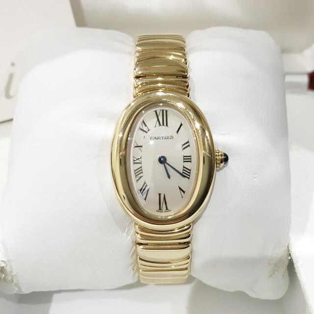 川口市からカルティエの腕時計【べニュワール】を買取_02