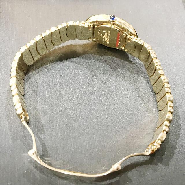 川口市からカルティエの腕時計【べニュワール】を買取_03