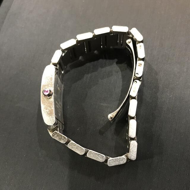 大阪のお客様からカルティエの腕時計【タンクフランセーズ】を買取_04