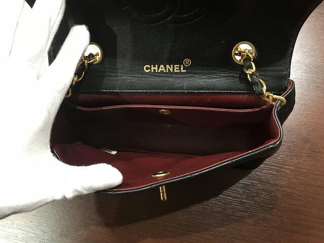 小山市からシャネルのマトラッセ チェーンショルダーバッグを買取_04