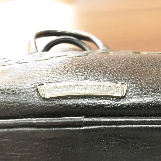 大阪梅田のお客様からクロムハーツの【セメンタリークロス】ボストンバッグを買取_04