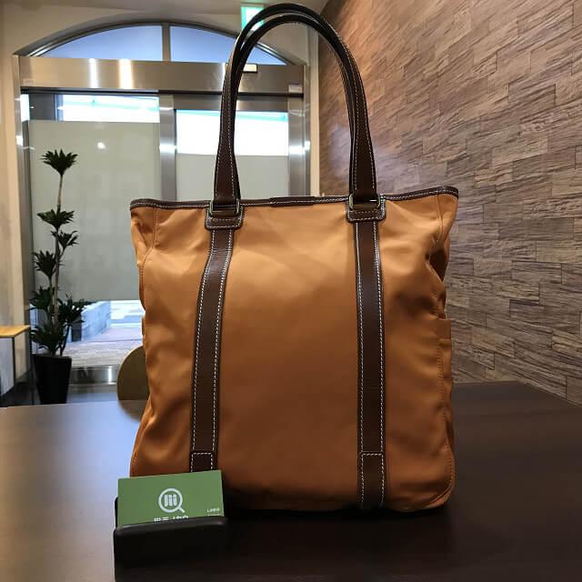 枚方店にてF.CLIO(エフクリオ)のバッグを買取_01